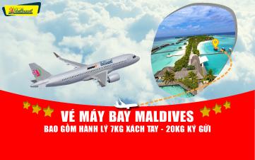 VÉ MÁY BAY MALDIVES