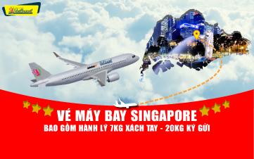 VÉ MÁY BAY SINGAPORE