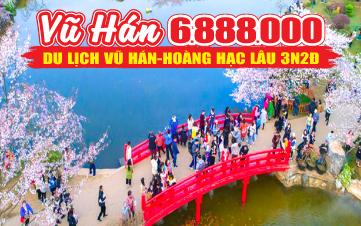 Du Lịch Vũ Hán Hoàng Hạc Lâu 3N2Đ