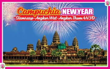 Tết Dương Lịch - PhnomPenh | Siemreap | Angkor 4N3Đ