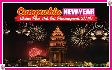 Tết Dương Lịch - Thủ Đô PhnomPhenh 2N1Đ