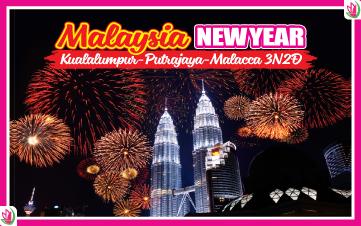 Tết Dương Lịch - Malaysia 4Sao  Kualalumpur | Putrajaya | Malacca | Genting 3N2Đ