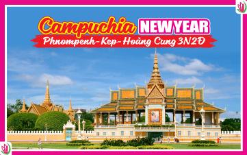 Tết Dương Lịch - Hành trình Campuchia 3N2Đ