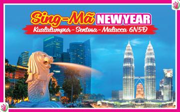 Tết Dương Lịch - Singapore | Malaysia | Singapore 4Sao 6N5Đ