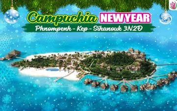 Tết Dương Lịch - Du lịch Campuchia 4Sao PhnomPenh | đảo KohRong 3N2Đ