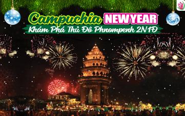 Tết Dương Lịch - Tour du lịch Campuchia | Thủ Đô PhnomPhenh | 2N1Đ