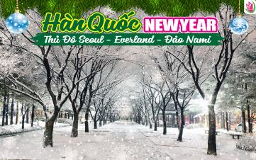 Tết Dương Lịch - Seoul | Namsan Tower | Đảo Nami | Everland 5N4Đ