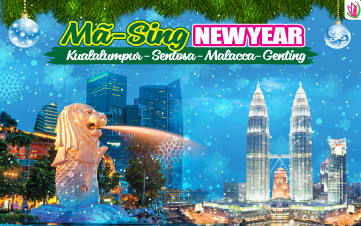 Tết Dương Lịch - Du Lịch Malaysia   Singapore