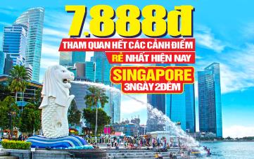 Tour Du Lịch Singapore 4sao 3N2Đ Khởi hành từ Đà Nẵng
