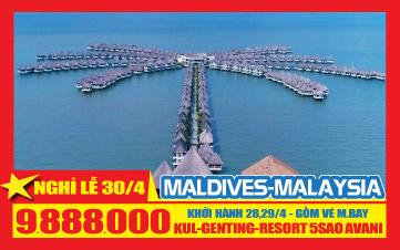 Du lịch Malaysia Lễ 30/4 4N3Đ |AVANI RESORT | Malacca |Gentting | Batu |Kualalumpur