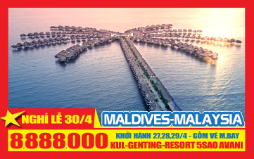 Du lịch Malaysia 3N2Đ |AVANI RESORT | Malacca |Gentting | Batu |Kualalumpur | 5sao