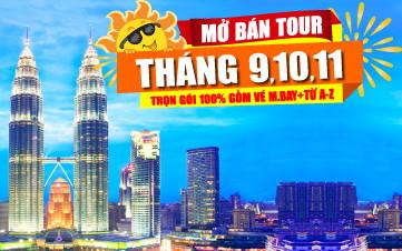 DU LỊCH MALAYSIA THÁNG 9-10-11-12