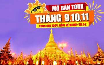 DU LỊCH MYANMAR - THÁNG 9-10-11-12