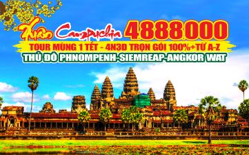 PhnomPenh | Siemreap | Angkor 4N3Đ
