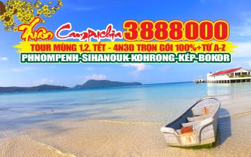 Du lịch Campuchia 4N3Đ | Kohrong Samloem | Hoàng Cung