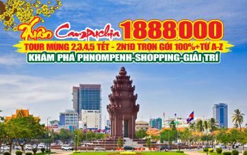 Tour du lịch Campuchia | Pnomphenh | 2N1Đ