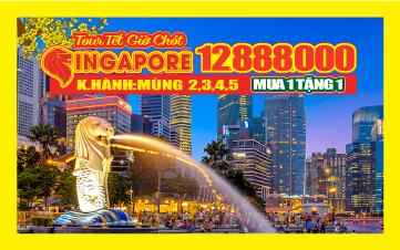 Du Lịch Singapore Tết 4N3Đ Mới nhất 2019