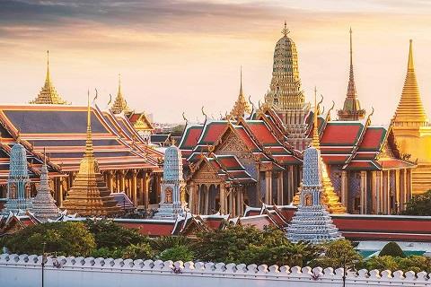 Chùa Phật Ngọc - Wat Phra Kaew ở Bangkok