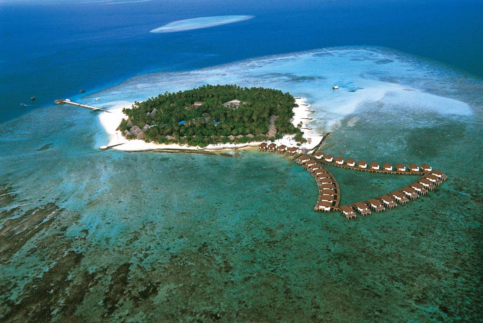 Đảo Alimatha - Viên ngọc quý của Maldives