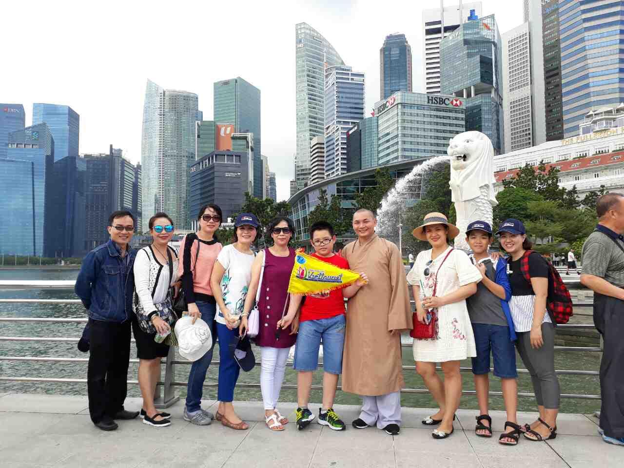 Ký sự du lịch Singapore 29/3/2017: Ngày đầu tiên ở Singapore