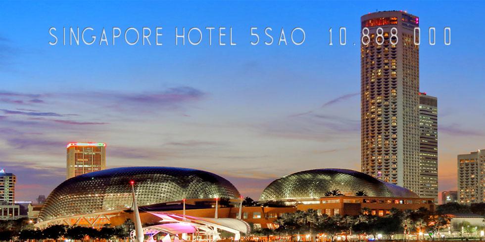 SINGAPORE 5 SAO - ESPLANADER