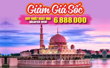 Tour Du lịch Malaysia 5Sao | Kualalumpur | Putrajaya City | Phố Cổ Malacca | Cao Nguyên Genting | 4N3Đ