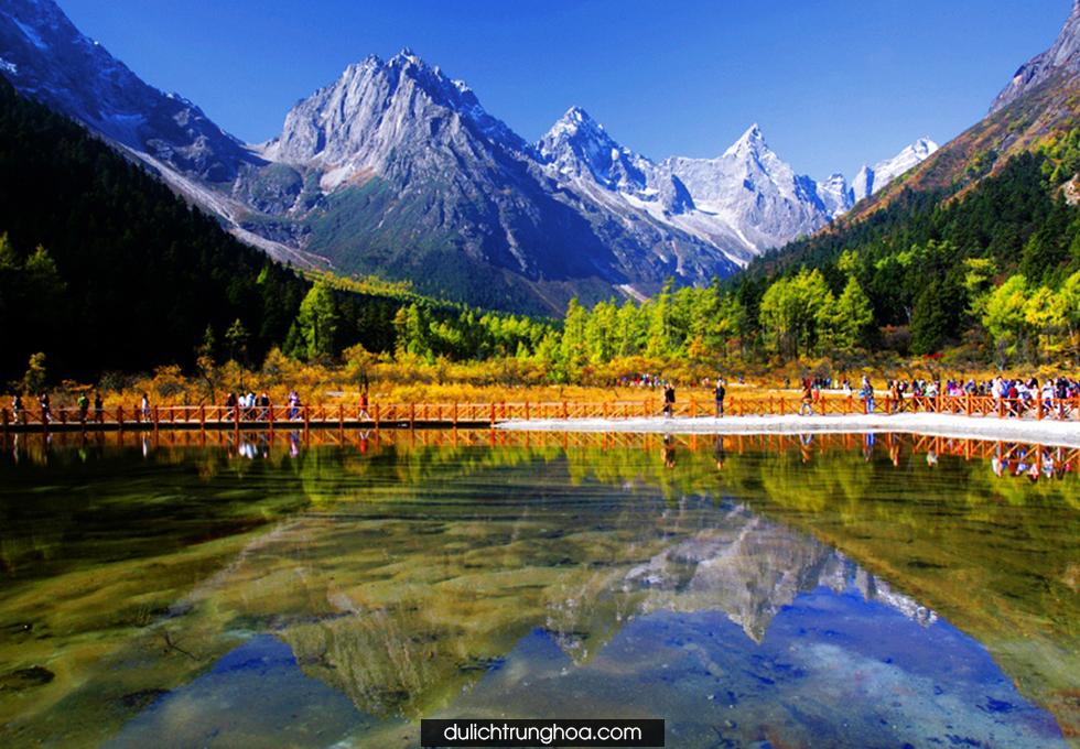 Du Lịch Trùng khánh Thành Đô Núi Nga Mi Lạc Sơn Đại Phật Hải Loa Câu Núi Tuyết