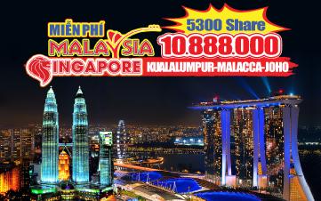 DU LỊCH HÈ MALAYSIA - SINGAPORE - MALAYSIA 6N5D