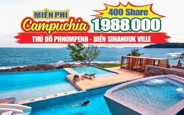 Du lịch Campuchia 5Sao Hè PhnomPenh | Sihanouk 2N2Đ