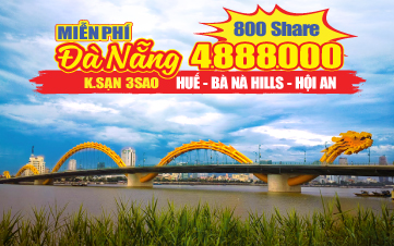Du lịch Hè Đà Nẵng | Huế | Bà Nà Hills | Hội An 3N2Đ