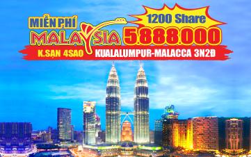 Du lịch Malaysia Hè 4Sao  Kualalumpur | Putrajaya | Malacca | Genting 3N2Đ