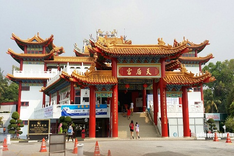 Chùa Thiên Hậu - Ngôi chùa Phật giáo Lớn Nhất Malaysia