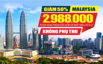 Tour Du lịch Malaysia Kualalumpur | Putrajaya 3N2Đ Kích cầu