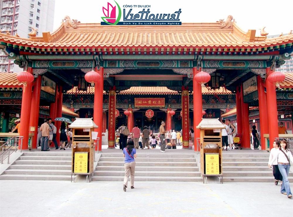 Miếu Huỳnh Đại Tiên – Ngôi miếu độc đáo của Hồng Kông