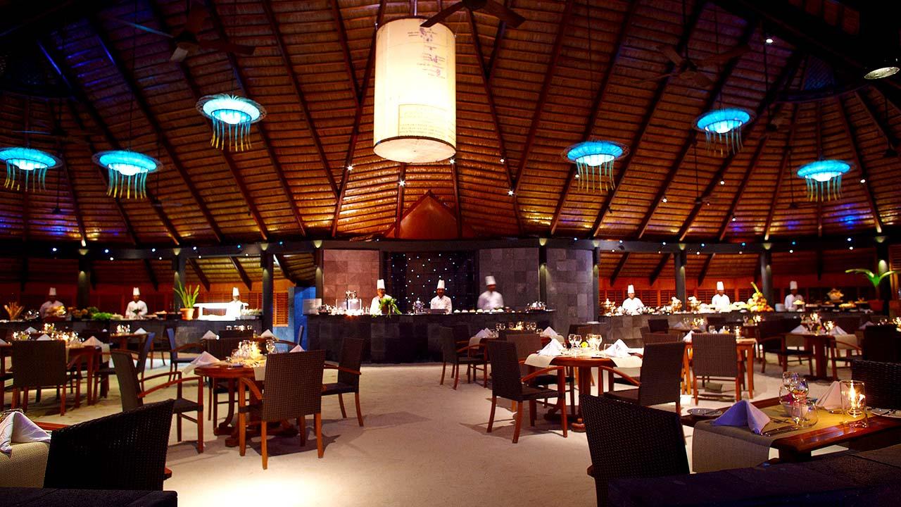 nhà hàng Maldives