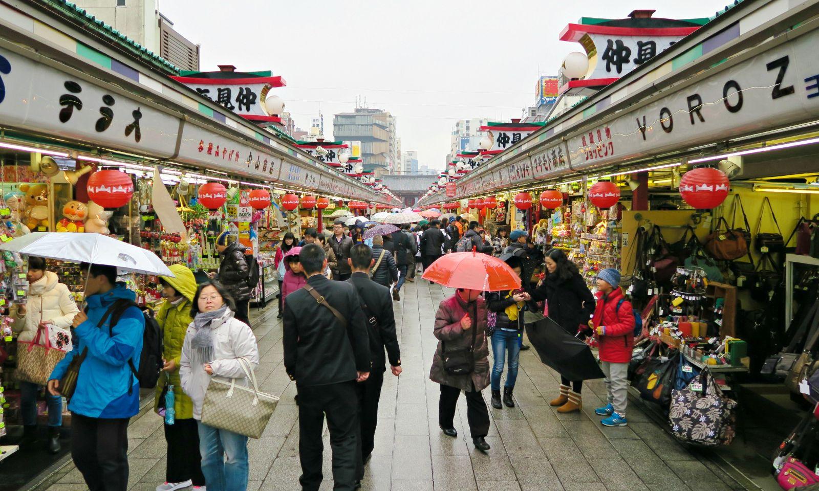 Nakamise - Phố mua sắm cổ xưa nhất xứ sở Hoa anh đào