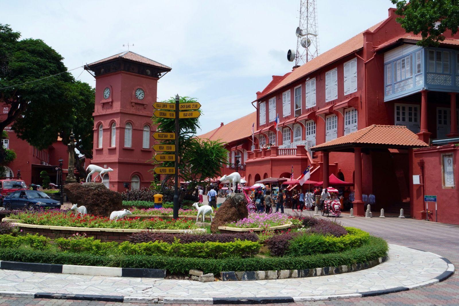 Quảng trường Hà Lan – Sắc màu Châu Âu ở Malaysia