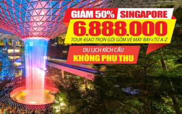 Tour Du Lịch Singapore 4Sao | Gardens by the Bay | Sentosa | Botanic | 3N2Đ