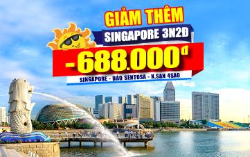 DU LỊCH SINGAPORE 4SAO 3N2Đ