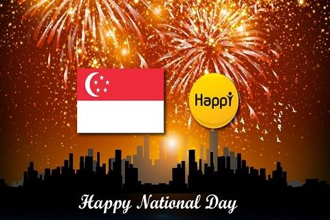 Tưng bừng không khí lễ hội Ngày Quốc Khánh Singapore
