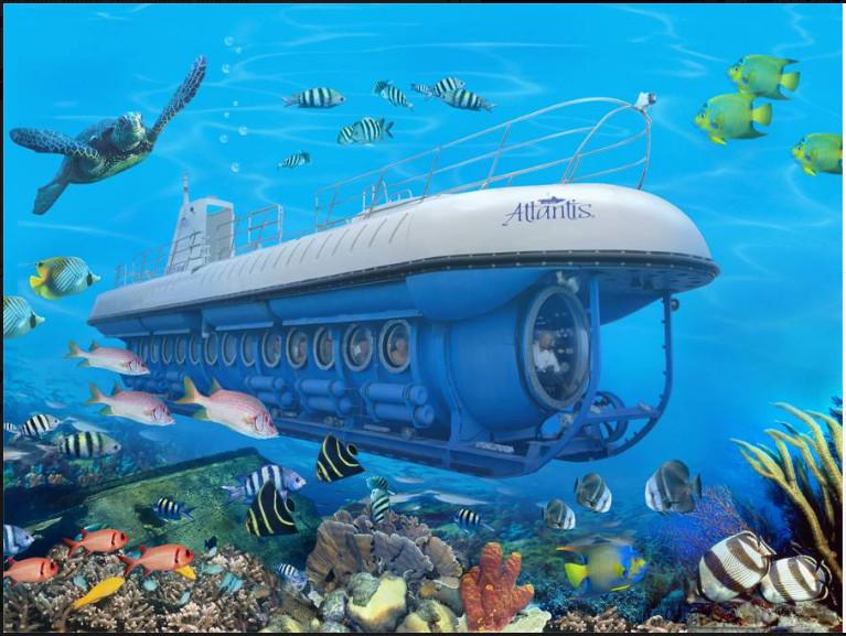 Trải nghiệm tàu ngầm tại Maldives: Du ngoạn đáy đại dương