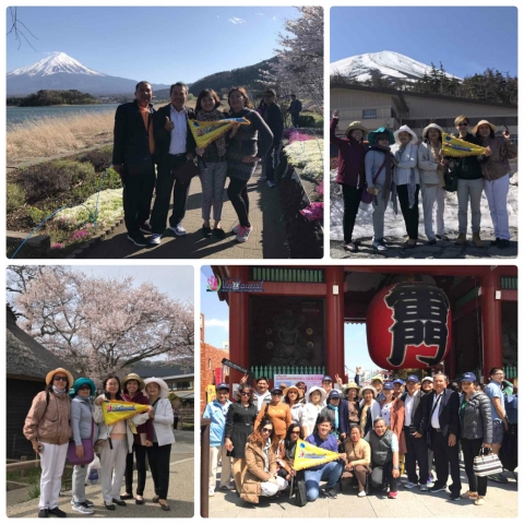 Nhật ký du lịch Nhật Bản ngày 18/4/2017