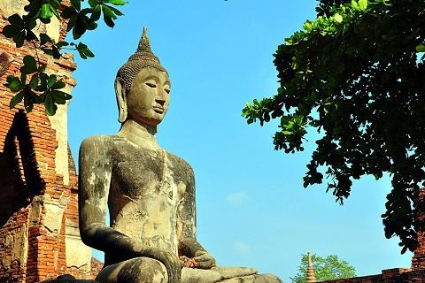 Wat Mahathat – Ngôi đền cổ nhất Thái Lan