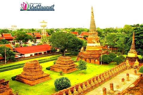Yai Chaimongkhon – Ngôi chùa đẹp nhất cố đô Ayutthaya
