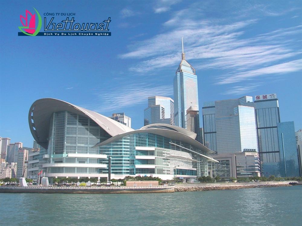 Trung tâm Hội nghị Triển Lãm – Nét kiến trúc nổi bật của Hồng Kông