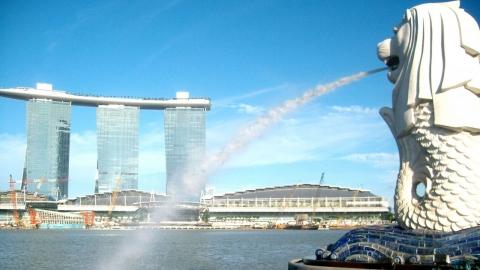 Công viên Sư tử biển Merlion - biểu tượng của Singapore