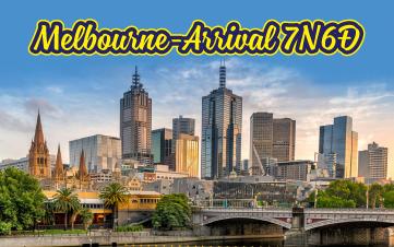 Du Lịch Úc 7N6Đ MELBOURNE – ARRIVAL Tham quan trải nghiệm cuộc sống