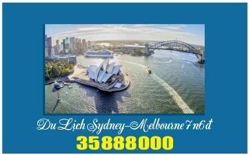 Du Lịch Úc Sydney – Melbourne 7N6Đ